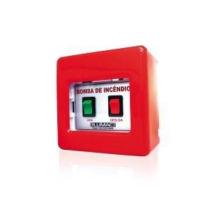 Botoeira de alarme bomba incêndio