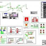 Projeto de sistema de combate a incêndio
