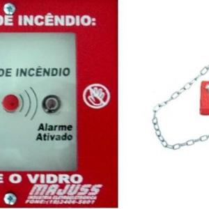 Botoeira de alarme de incêndio campinas
